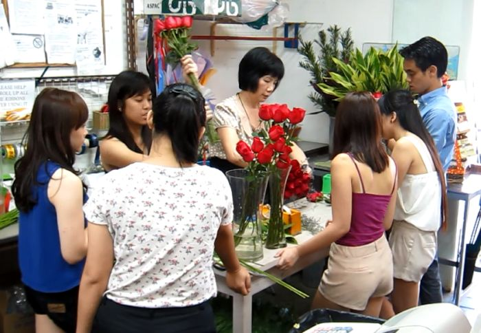 Florist Training Session