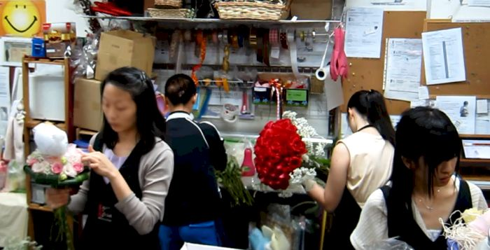 florists in action