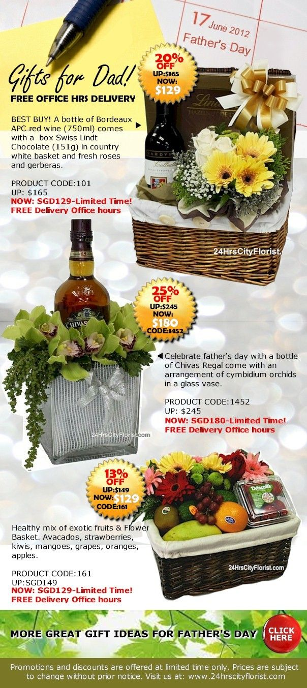 father's day flower delivery singapore