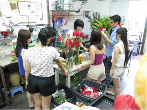 Valentine Florist Briefing Session