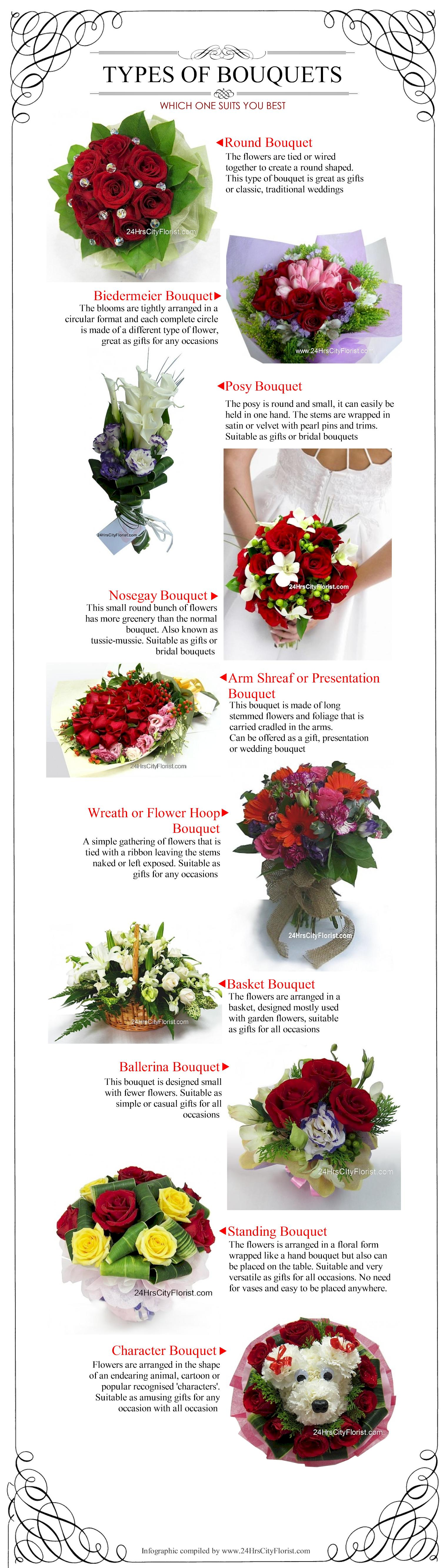 Type Of Bouquet 2014
