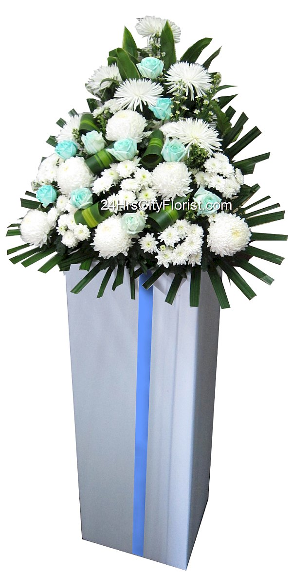 condolences flower stands
