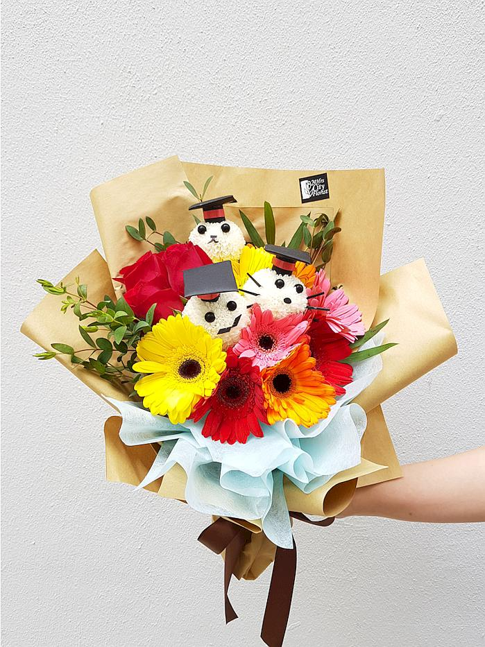 Quirky Graduation Bouquet