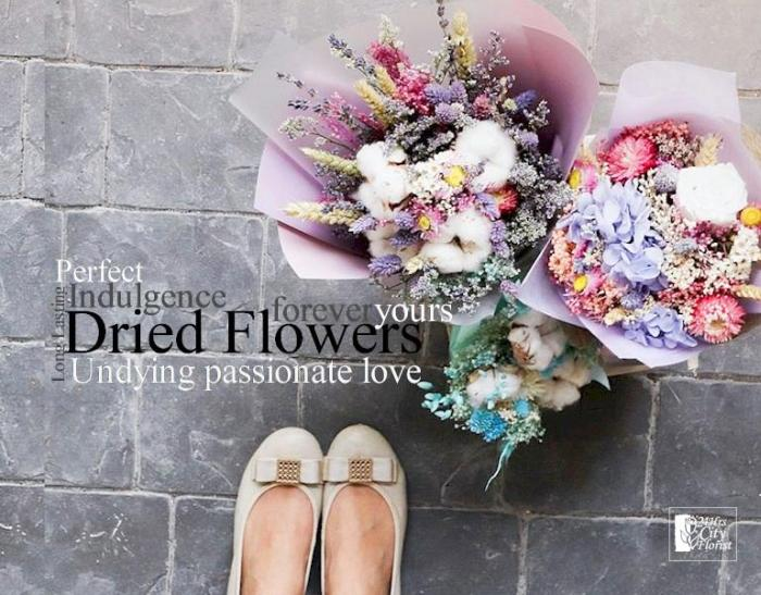 How To Make Dried Flowers Bouquet 24hrs City Florist