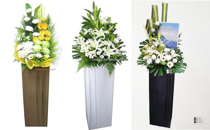 Types Of Flowers To Send For Condolence 24hrs City Florist