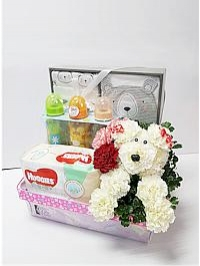 Baby Hamper With Pup..