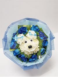 Dog Flower Bouquet..