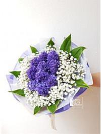 Hyacinths Hand Bouqu..