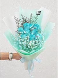 Tiffany Blue Rose 9..