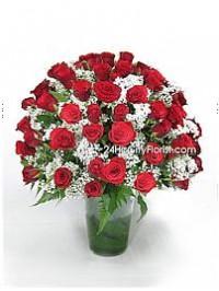 Vase of Rose For Val..