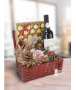 dried flower hamper
