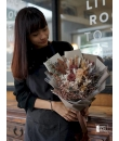 chocolate dried rose bouquet