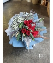 red rose hand bouquet Valentine Bouquet