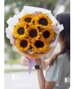 sunflower bouquet delivery singapore