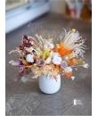 Dried Flowers Vase Arrangement