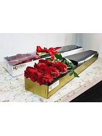 Box Of Red Roses..