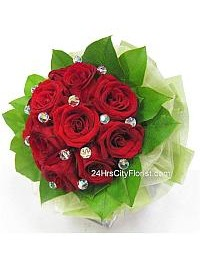 Crystal Rose Bouquet..