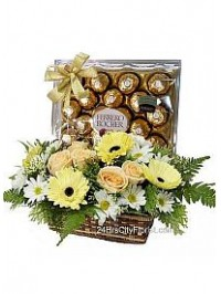 Rocher Gift Basket..