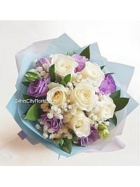White Rose Bouquet..