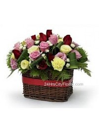 Basket Arrangement..