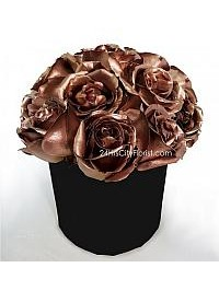Bronze Rose Gift Box..