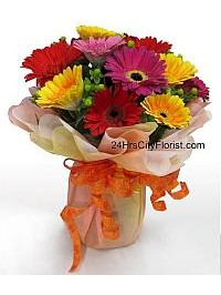 Colourful Gerberas..