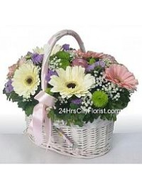 Country Gerbera Bask..