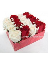 Roses in A Box..