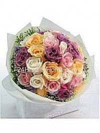 Multi Colour Rose Bo..