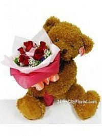 B6 Beary Huggie Rose..
