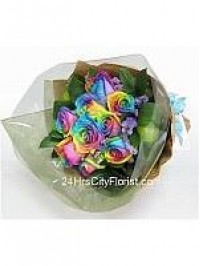 Rainbow Rose Sheaf B..