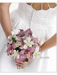 Orchid Bridal Bouque..