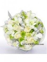 White Rose Bouquet W..