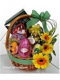 Easter Egg Basket..