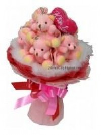 A1 Bear Bouquet..