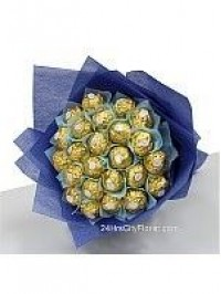 Blue Rocher Bouquet..