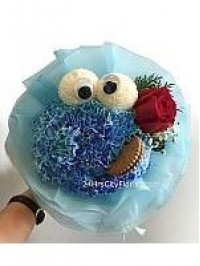 Cookie Monster Rose ..