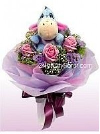 Eeyore Rose Bouquet..