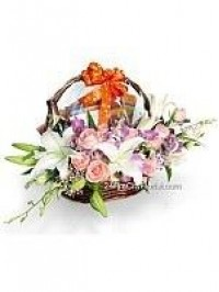 Flower Hamper For An..