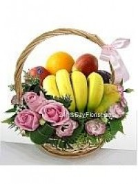 Fruit Rose Basket..