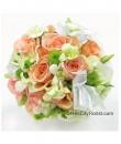 Bridal Bouquet Champagne Rose