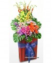 opening business flower stand