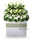 large funeral flower arrangements