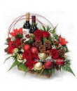Christmas Flowers & Wine