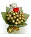 Rocher Bouquet with Bear