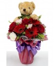 Teddy Standing Bouquet