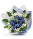 Hyacinths Hand Bouquet