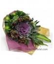 Brassica Flower Hand Bouquet