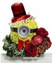 Minion Xmas Special Flower Arrangement