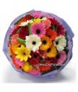 Big Colourful Gerbera Bouquet